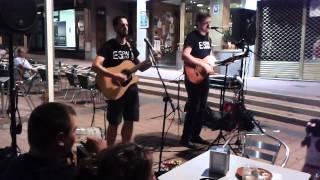 Esparadrapo - Pienso en aquella tarde (cover de Pereza) - Bar PK2, 07/08/2015