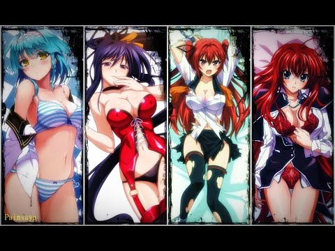 AMV Blah blah blah High School DxD vs     Shinmai Mao no Testament
