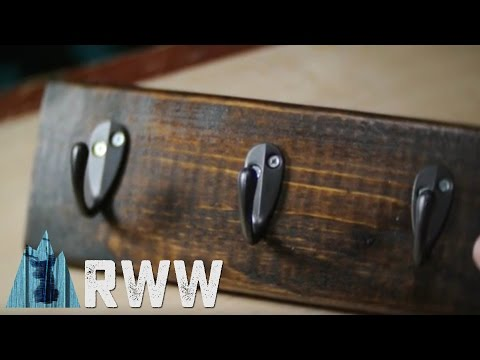 How To Make a Wooden Key Holder
