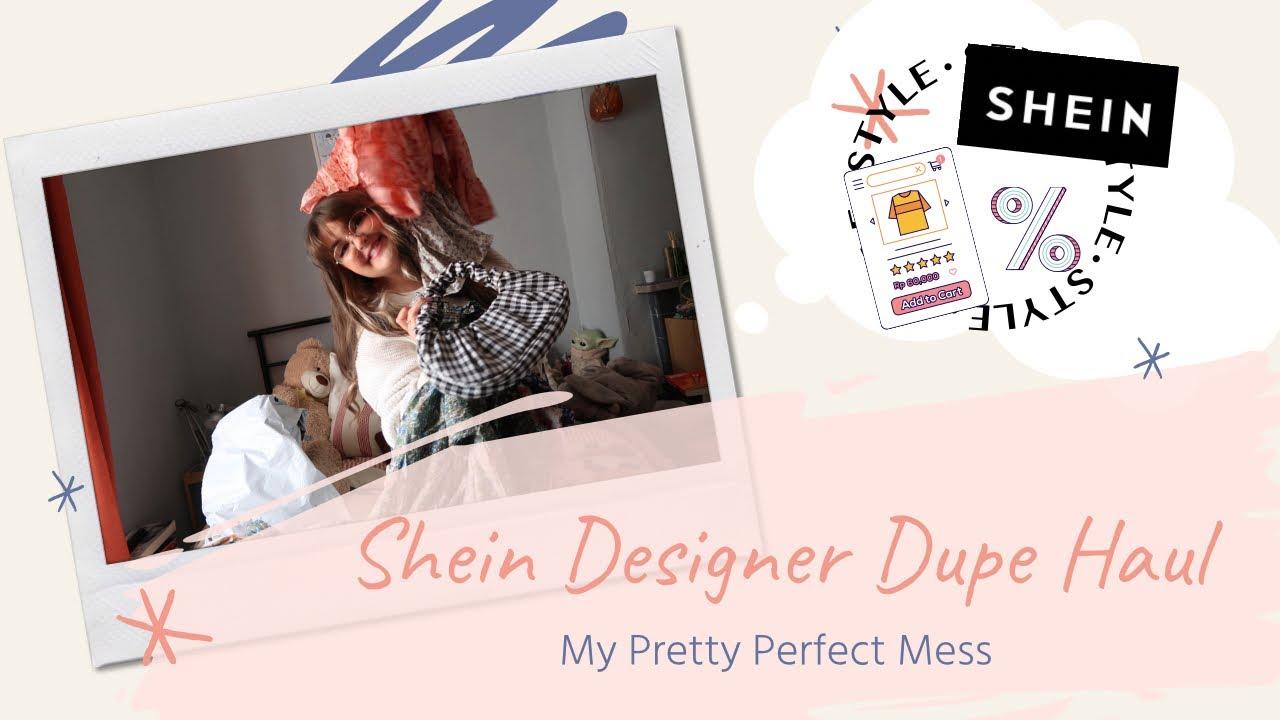 Shein Designer Dupe Haul