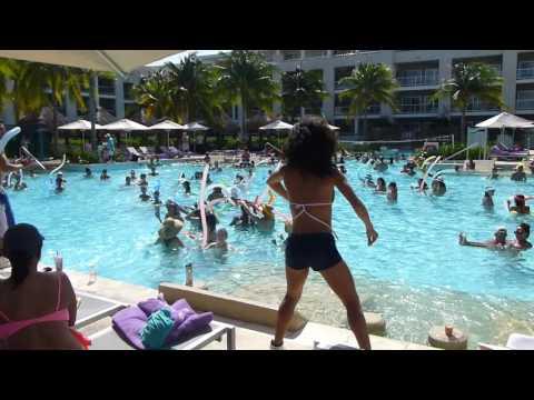Playa Del Carmen Paradisus Pool Party!