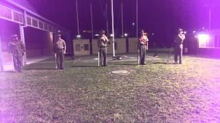 Australian army cadet drill practice ( .303 Lee En