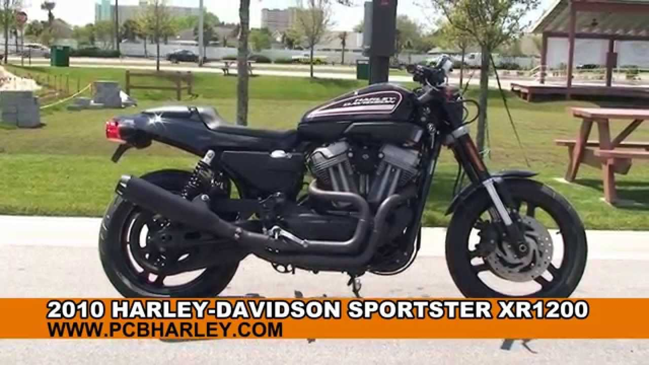 Used 2010 Harley Davidson Sportster XR1200 Motorcycles for sale St ...