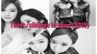 Twins/Siblings in kpop