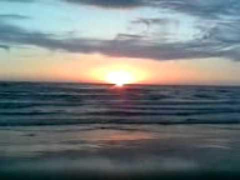 The Beautiful Caspian Sea(sunset)