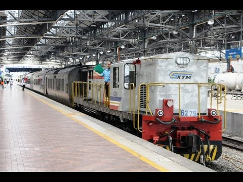Indian Locomotive in Malaysia; KTM YDM4 Loco; Friendly Train Engineer