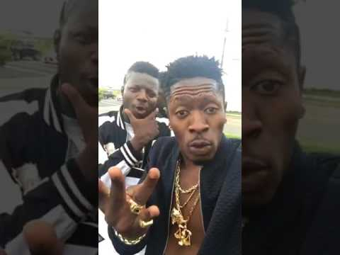 Pope Skinny arrives in USA for Shatta Wale USA tour