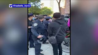 Arrests made during 'Abolish ICE' rallies in NYC