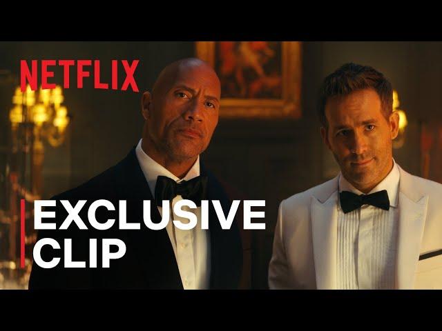 RED NOTICE | Exclusive Clip | Dwayne Johnson, Ryan Reynolds, Gal Gadot | Netflix India