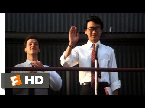 Gung Ho (4/10) Movie CLIP - Morning Exercises (1986) HD