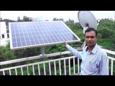 Product Demonstration for Inverterless - A Solar DC Solution