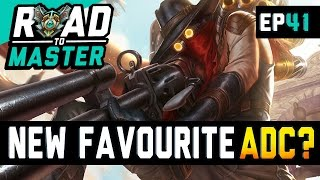 ONE OF MY NEW FAVOURITE ADCS? - Road to Master Ep 41 (League of Legends)