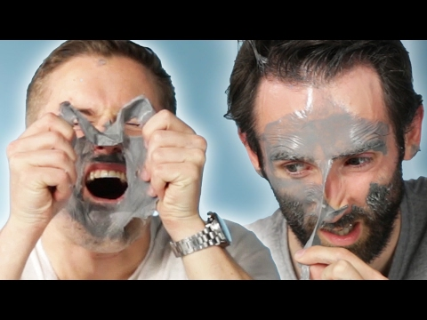 "Guys Try The ""Most Painful"" Face Mask"