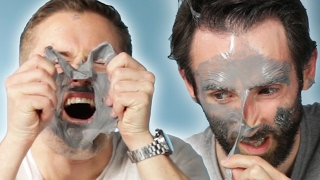 "Guys Try The ""Most Painful\"" Face Mask"