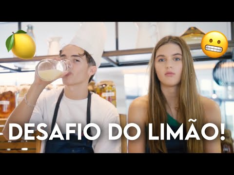 Now United Em: Desafio Do Suco De Limão! (LEGENDADO PT-BR)