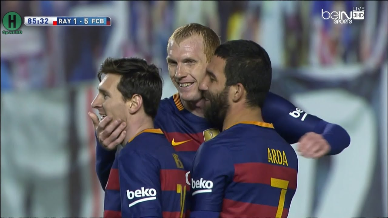 Download Summary Rayo Vallecano vs Barcelona 1-5 La Liga 3-3-2016 HD1080P