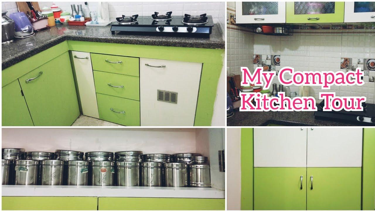 என ன ட ய ப த கச ச தம ன ம ட லர Kitchen Tour Tamil Kitchen Organization Compact Kitchen Designs