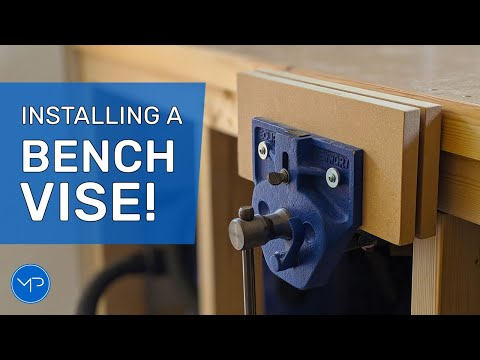 How to install a Workbench Vice ~ DIY Woodworking