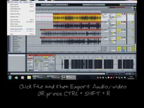 ableton live 7 8 tutorial on how to do a basic recording for drums guitar vocals etc and. Black Bedroom Furniture Sets. Home Design Ideas