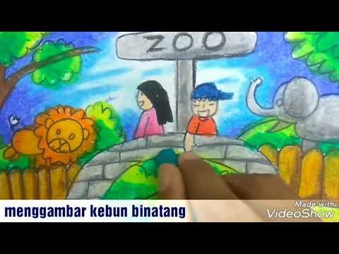Wn Menggambar Kebun Binatang Risbi