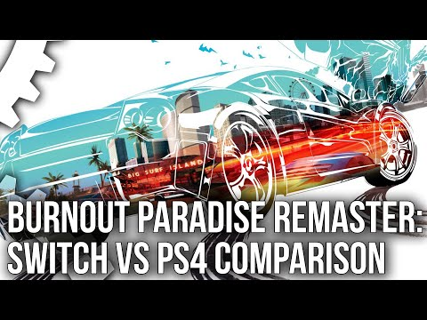 Burnout Paradise Remastered: Switch vs PS4 Tested - The Full 60FPS Package?