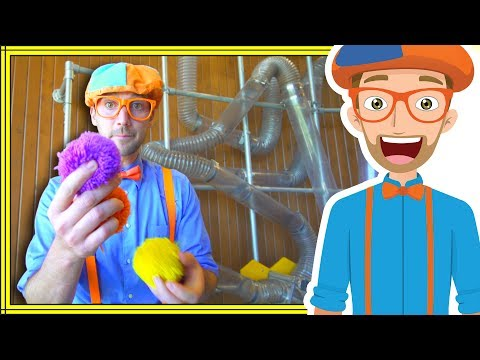 1 Hour Compilation with Blippi | Playing at the Children's Museum and More!