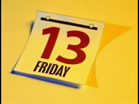 Friday the 13th and Triskaidekaphobia