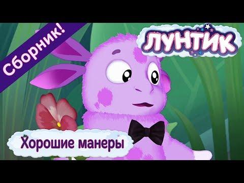 Хорошие манеры 🤗 Лунтик 👌🏻 Сборник мультфильмов 2018