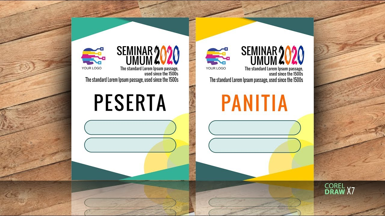 1020+ Foto Desain Name Tag Panitia HD Paling Keren Unduh ...