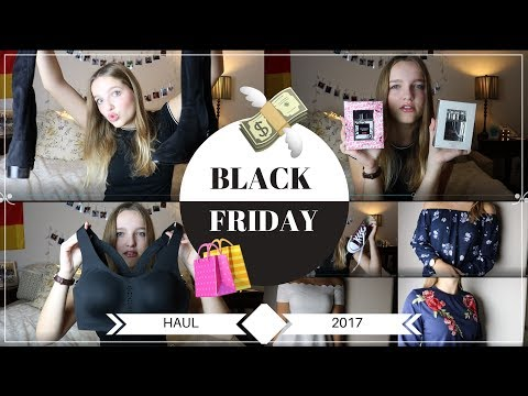 BLACK FRIDAY HAUL 2017   Hannah in Amerika