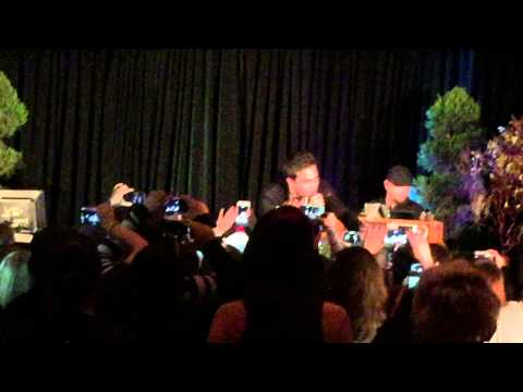 "Chris Wood, Chase Coleman & Micah Parker singing ""Where Is The Love"" at TVD Orlando Karaoke"