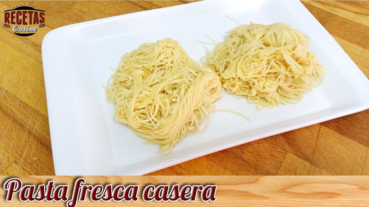 Pasta fresca casera recetas de cocina youtube for Recetas cocina casera
