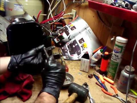 Auger box and motor assembly on salt dogg shpe 2000 for Salt dogg spreader motor
