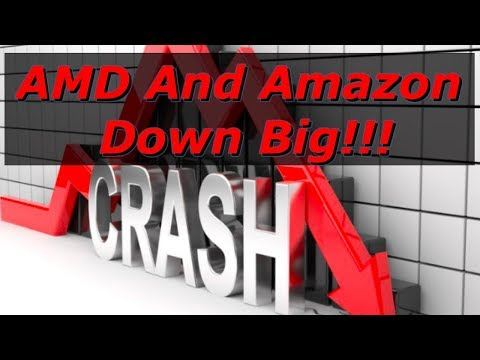 AMD And Amazon Down Big After Earnings!