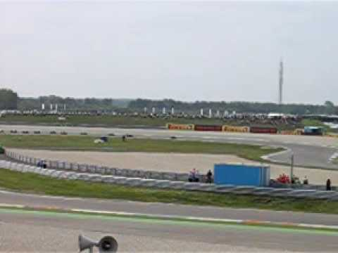 Start race 1 Superbike Assen 2009 (Strubben tribune)