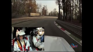 Lancia Delta S4 Paolo Andreucci Onboard at Monza Rally Show 2012