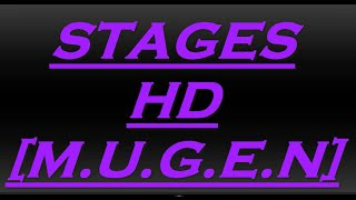 Stages HD Para Mugen (Con Movimiento)