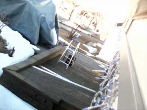 Guillaume d monte son garage de toile youtube for Garage de toile