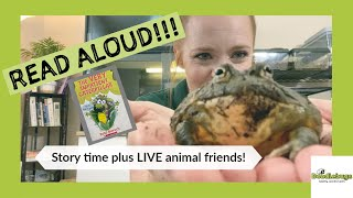 "READ ALOUD - ""The Very Impatient Caterpillar"" story time plus LIVE ANIMAL friends!"
