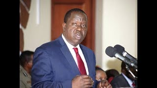 CS Matiang'i presides over pass out parade, event at Kiganjo Police Academy