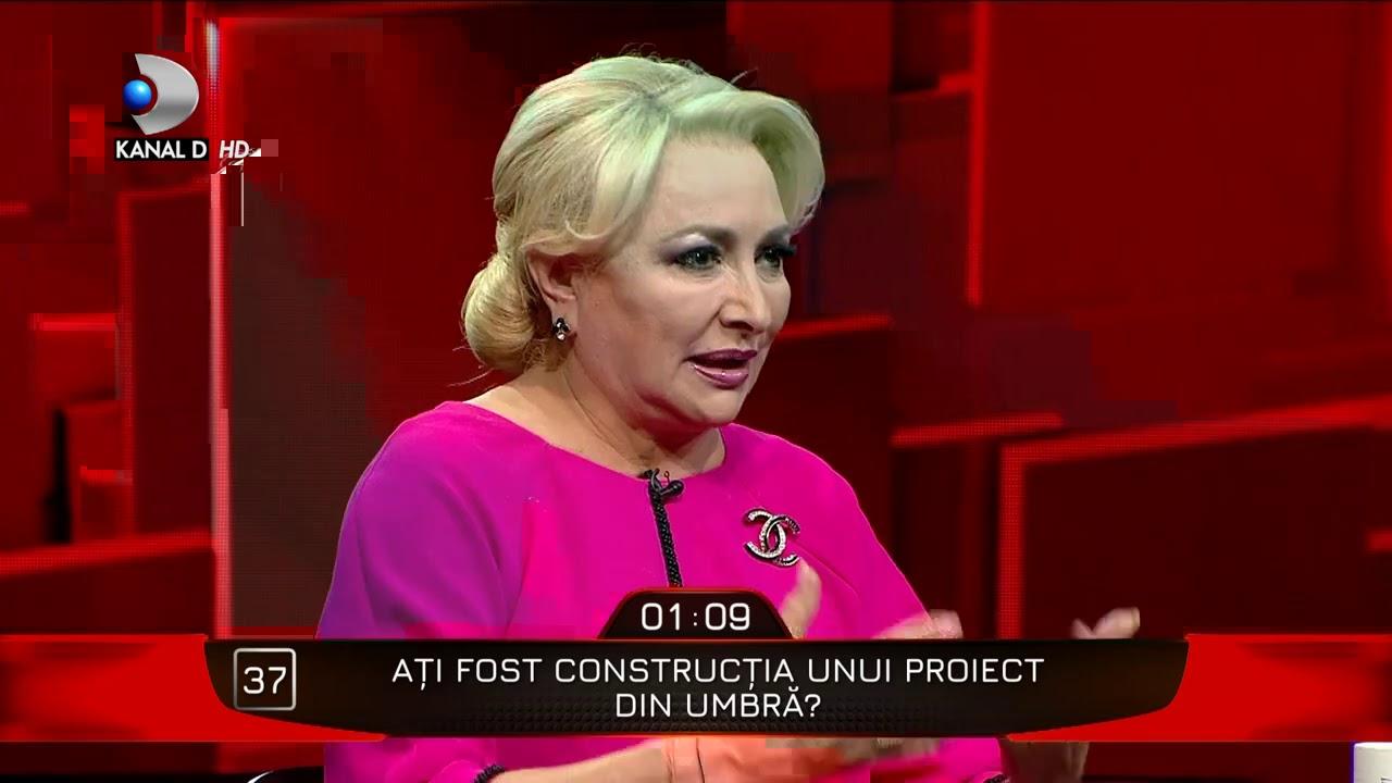 40 de intrebari cu Denise Rifai - A avut Dancila o intelegere cu Iohannis la alegerile prezidentiale