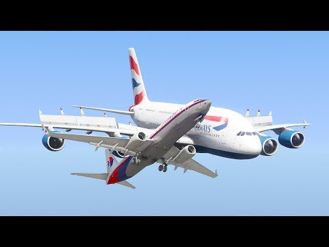 A380 Collides With