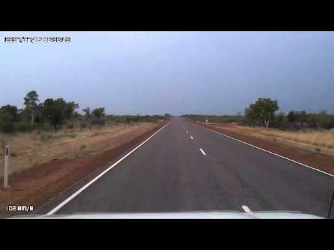 Video 265-Stuart Highway - Stuart Memorial to Three Way Roadhouse