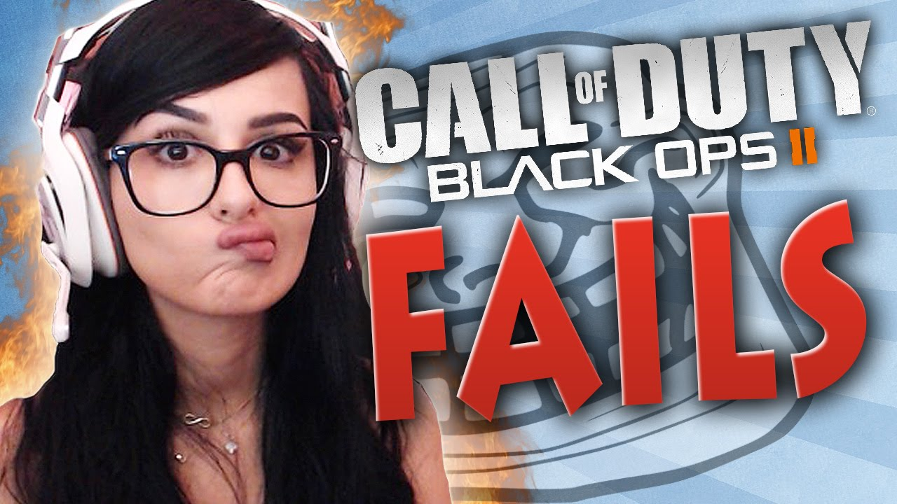 I SUCK AT TROLLING - Black Ops 2 Fails - YouTube