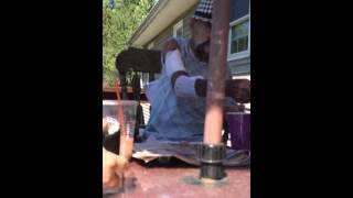 Ox Baker at his home part 1