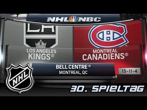 Los Angeles Kings Vs Montreal Canadiens