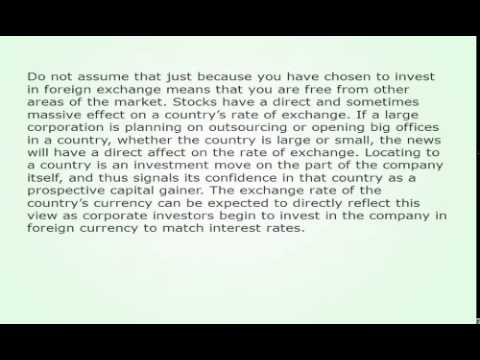 What Affects Foreign Exchange Rate