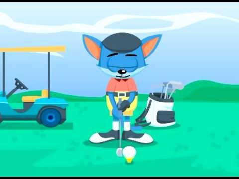 Funny Golf Courses Lesson 1 Animated Cartoon Characters