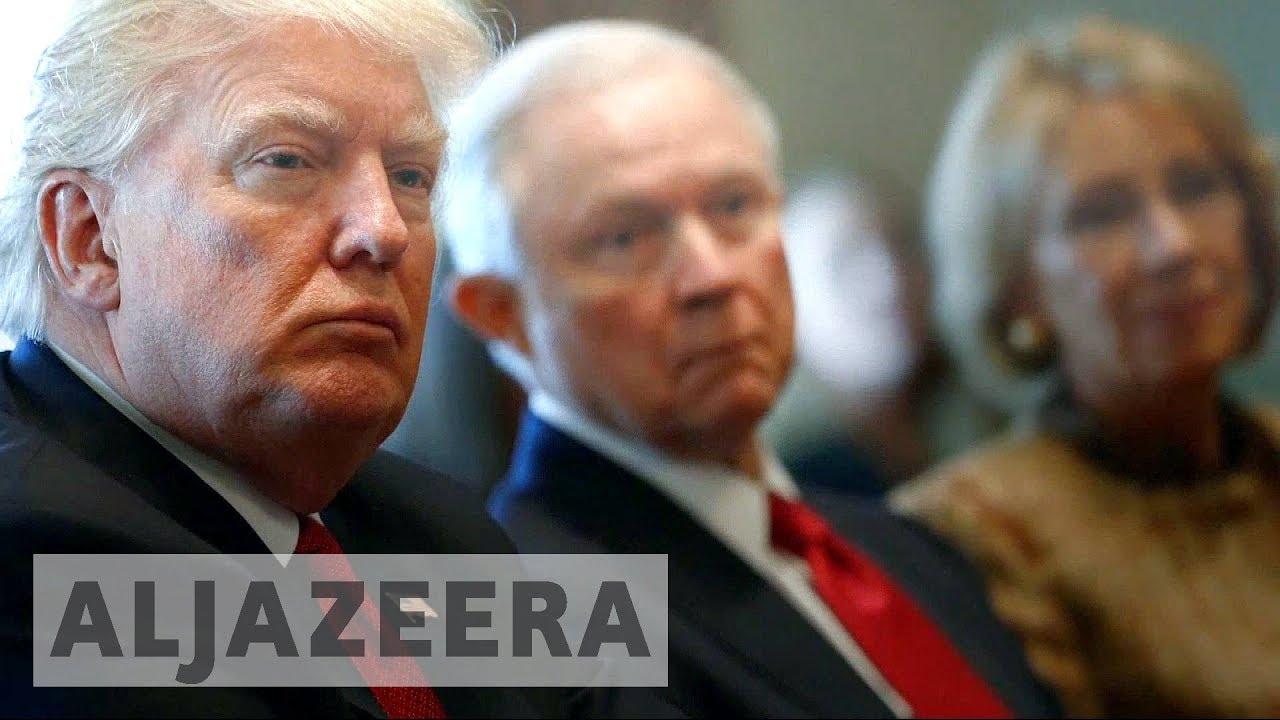 US: Trump attacks attorney general and calls him 'weak'