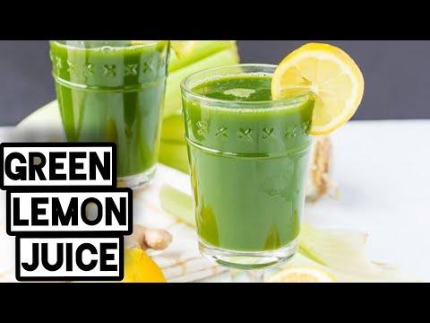 Refreshing lemon juice with coriander/ green lemon juice 🧃/ healty drink / detoxifying summer drink